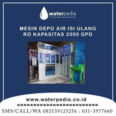 Mesin Depot Air Minum Isi Ulang Waterpedia