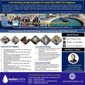 Training Pengolahan Air Limbah 2020 Bagaimana Cara Mendesain IPAL WWTP/STP 10 Langkah Tepat Mendesain IPAL