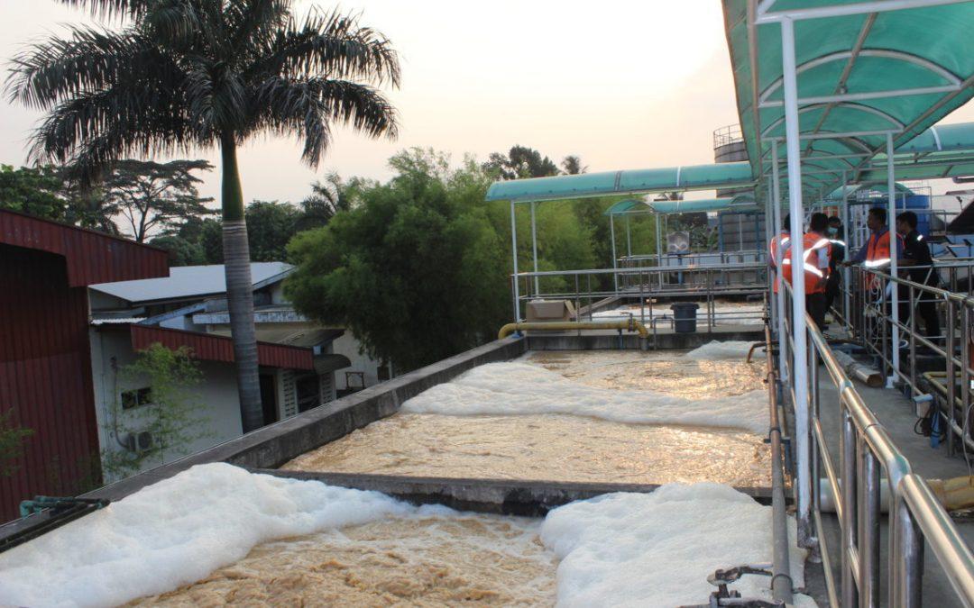 Assesment and Evaluation IPAL di PT. Tirta Investama Aqua Danone Pasuruan Jawa Timur