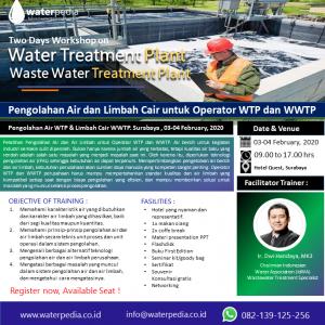 waterpedia.co.id Pengolahan-Air-WTP-Limbah-Cair-WWTP.-Surabaya-03.04-feb-2020