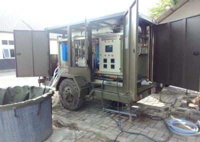 Assesment SWRO Portable 18m3/day Bumi Marinir Surabaya Jawa Timur
