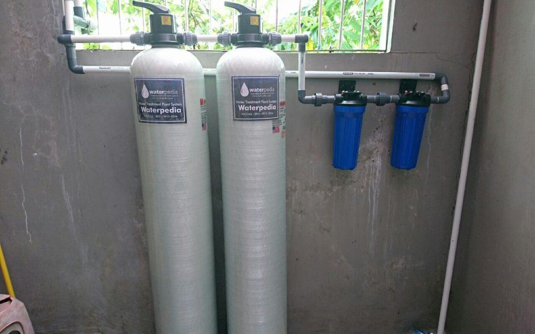 Pemasangan Filter Air Rumah Tangga di Home Industri Seblak Asgar Yogyakarta