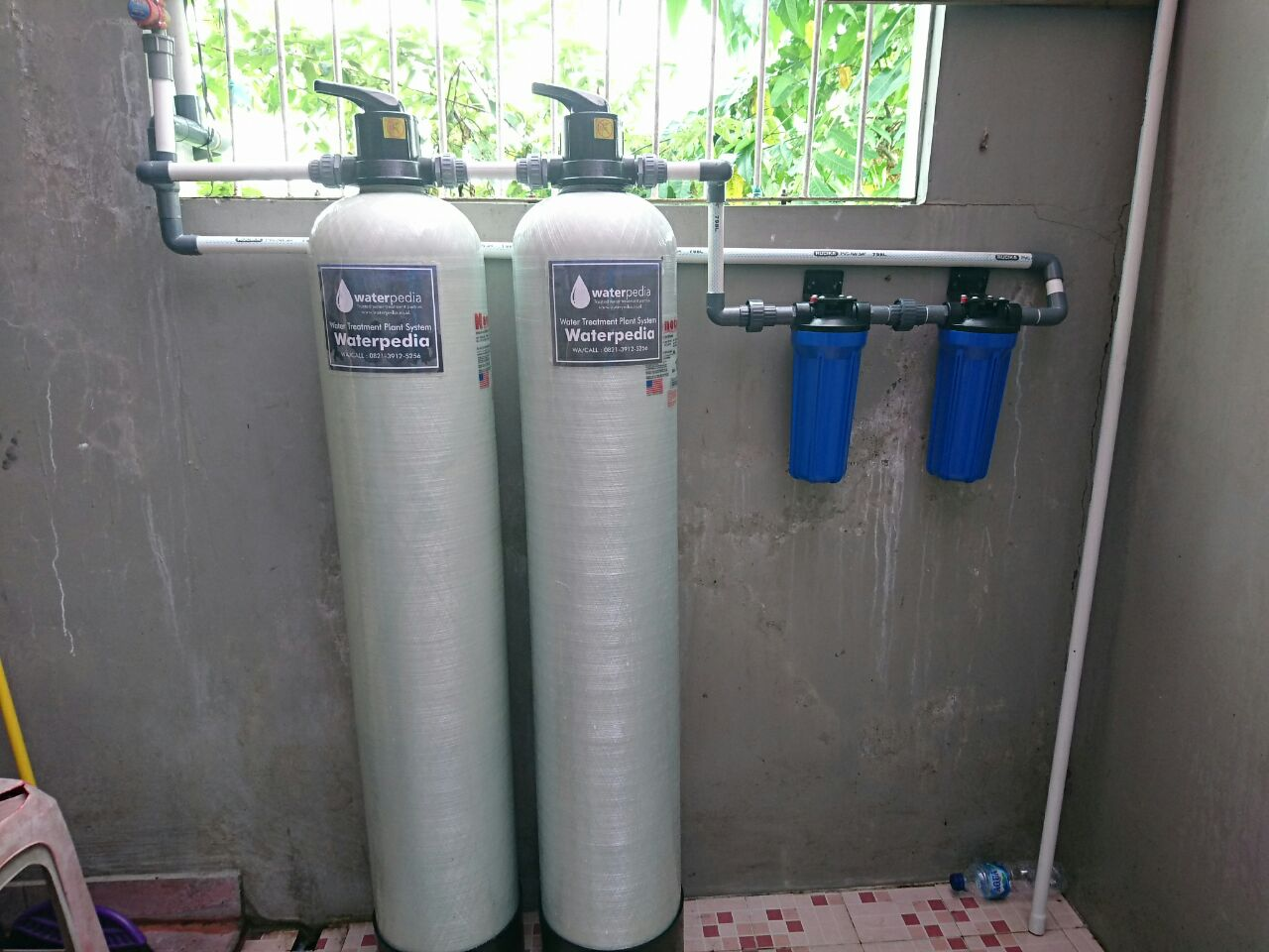 Filter Air Rumah Tangga Untuk Menghilangkan Bau Besi
