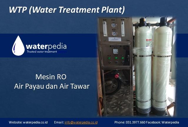 Mesin RO Air Payau dan Air Tawar Waterpedia 0821391252526