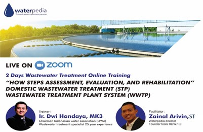 Assesment, Evaluation & Rehabilitation Wastewater Treatment 5-6 Mei 2020