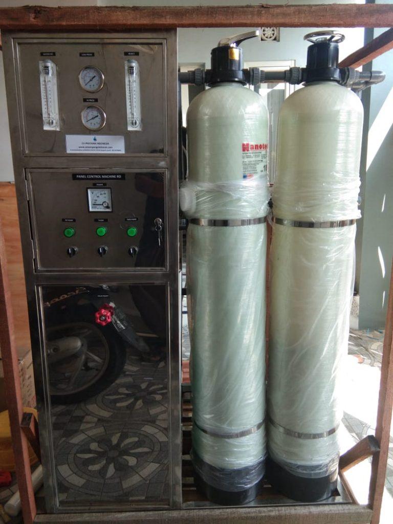 Mesin RO 2000 GPD Setara 7600 Liter Air Payau dan Tawar Waterpedia