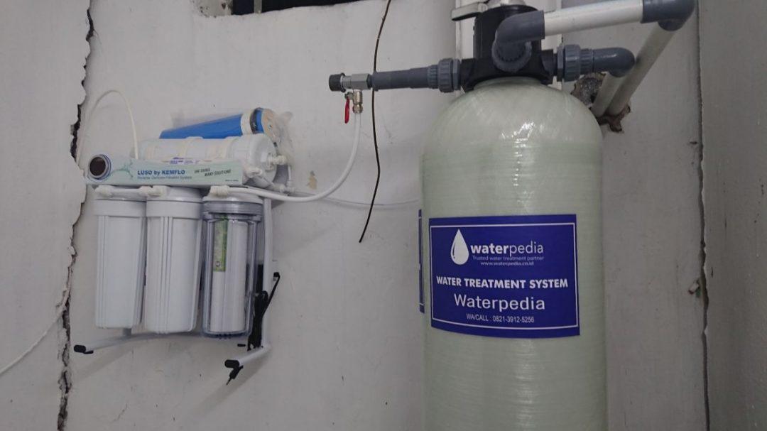 Pemasangan Filter RO Air Sumur Air Siap Diminum Surabaya