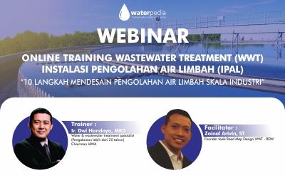 Pelatihan Mendesain Pengolahan Air Limbah Sekala Industri 10-11 Juni 2020