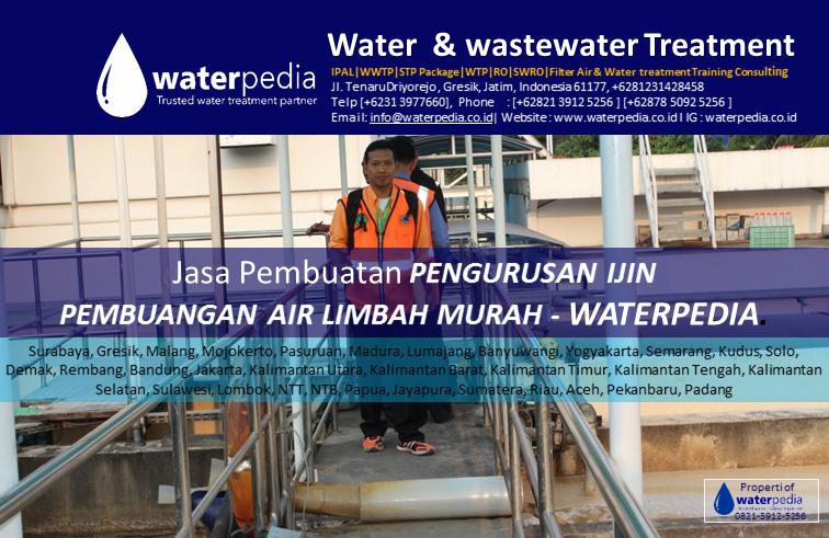 Jasa Pembuatan PENGURUSAN IJIN waterpedia