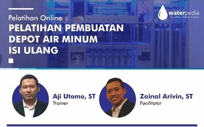 Webinar Training Pembuatan Depo Air Minum Isi Ulang 16 Mei 2020 Zoom Application