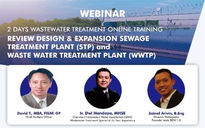 Review Design and Expansion of Wastewater Treatment 18-19 Mei 2020