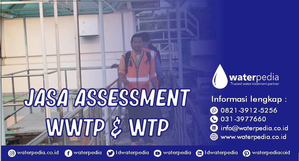 waterpedia jasa Assessment WWTP & WTP