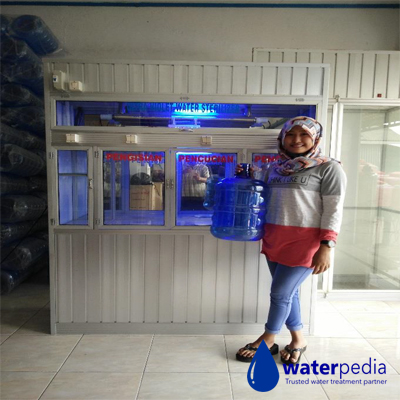 Paket Isi Ulang Air Mineral 1200 Liter Per Jam - Waterpedia