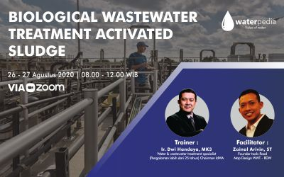 Training Biological Wasterwater Treatment Activated Sludge: 26-27 Agustus 2020