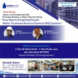 Training Online - waterpedia - 082139125256