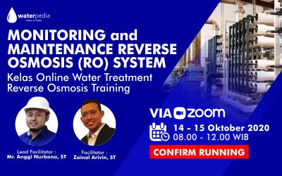 Training Monitoring and Maintenance Reverse Osmosis System: 14-15 Oktober 2020