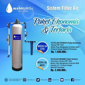 Filter Air Sumur dan PDAm Berkualitas Terbaik Waterpedia