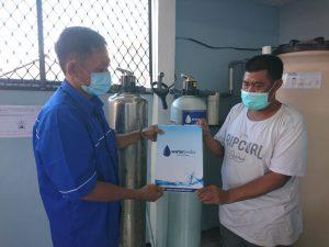 Pemasangan Filter Air Sumur Kantor di Sidoarjo