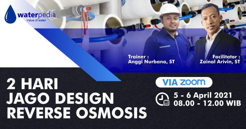 Training 2 Hari Jago Desain Reverse Osmosis RO 0506 April 2021 - featured image