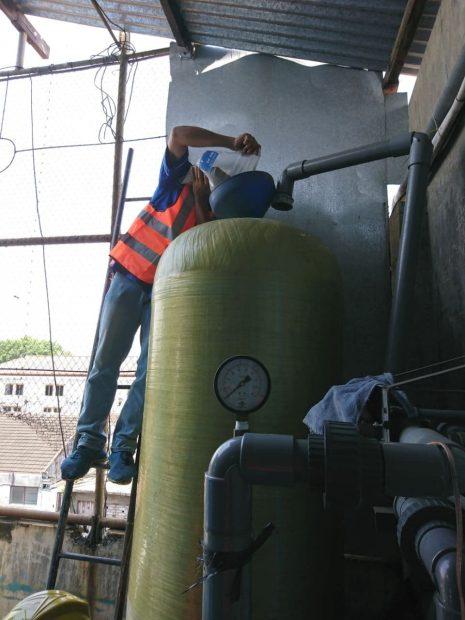 Pemasangan Pengolahan Air Bersih Di Hotel Tugu Malang