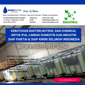Bakteri Nutrisi dan Chemical WWTP
