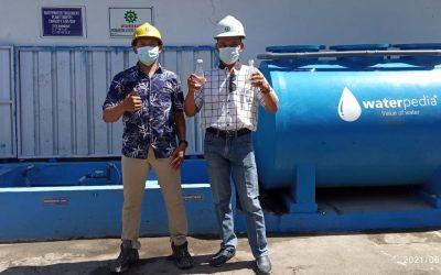 Pemasangan Intalasi Pengolahan Air Limbah Domestik STP Industri IPAL PT. Gold Coin Indonesia Surabaya